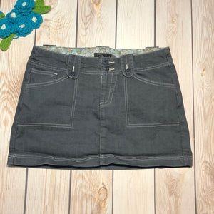 Prana women's denim miniskirt